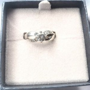 14k GF Genuine Gem Ring